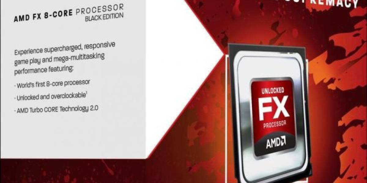 Se filtran los posibles precios de los CPU AMD FX
