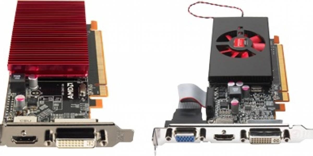 AMD lanza 3 nuevos GPUs: Radeon HD 6450, HD 6570 y HD 6670