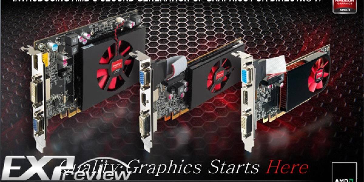 AMD Radeon HD 6450/6570/6670 oficialmente lanzadas