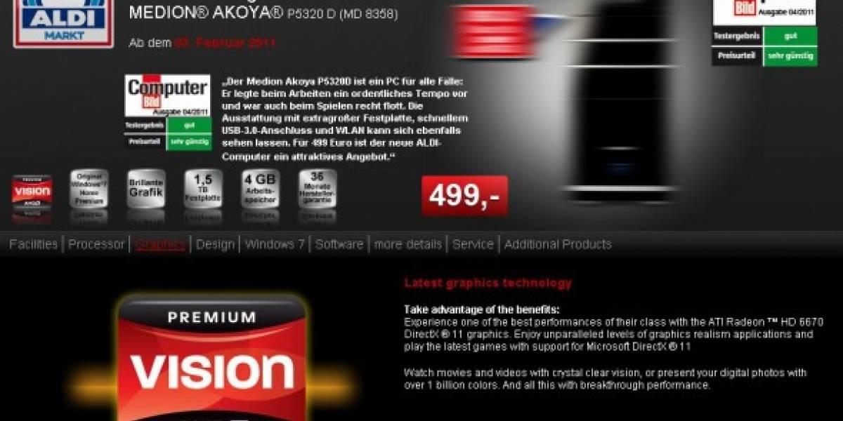 AMD Radeon HD 6670 avistada en equipo OEM