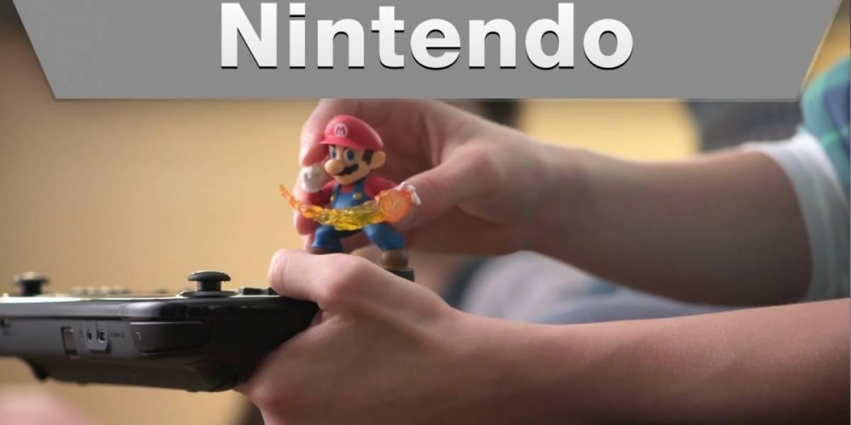 Así se ocupan las figuras amiibo en Super Smash Bros