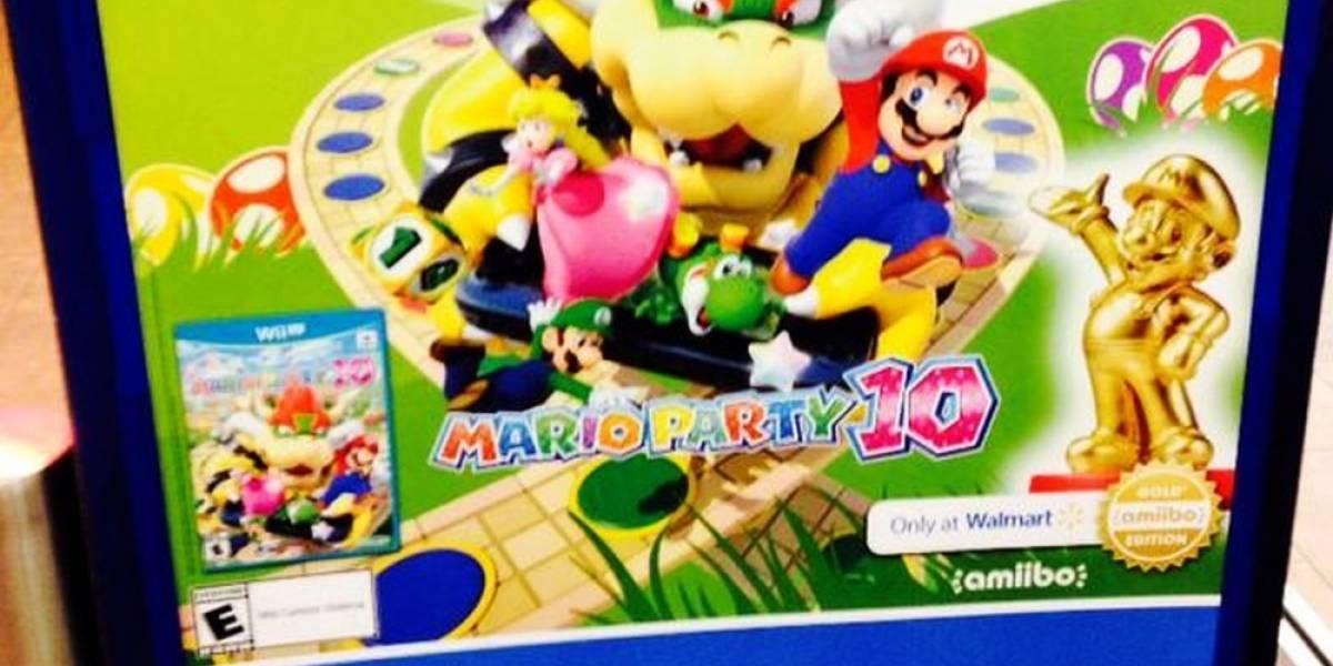 Amiibo dorado de Mario será exclusivo de Walmart en EE.UU.