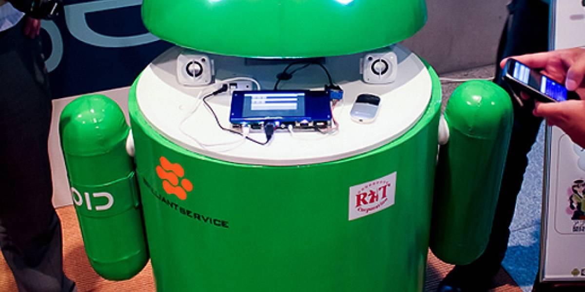 El verdadero robot Android