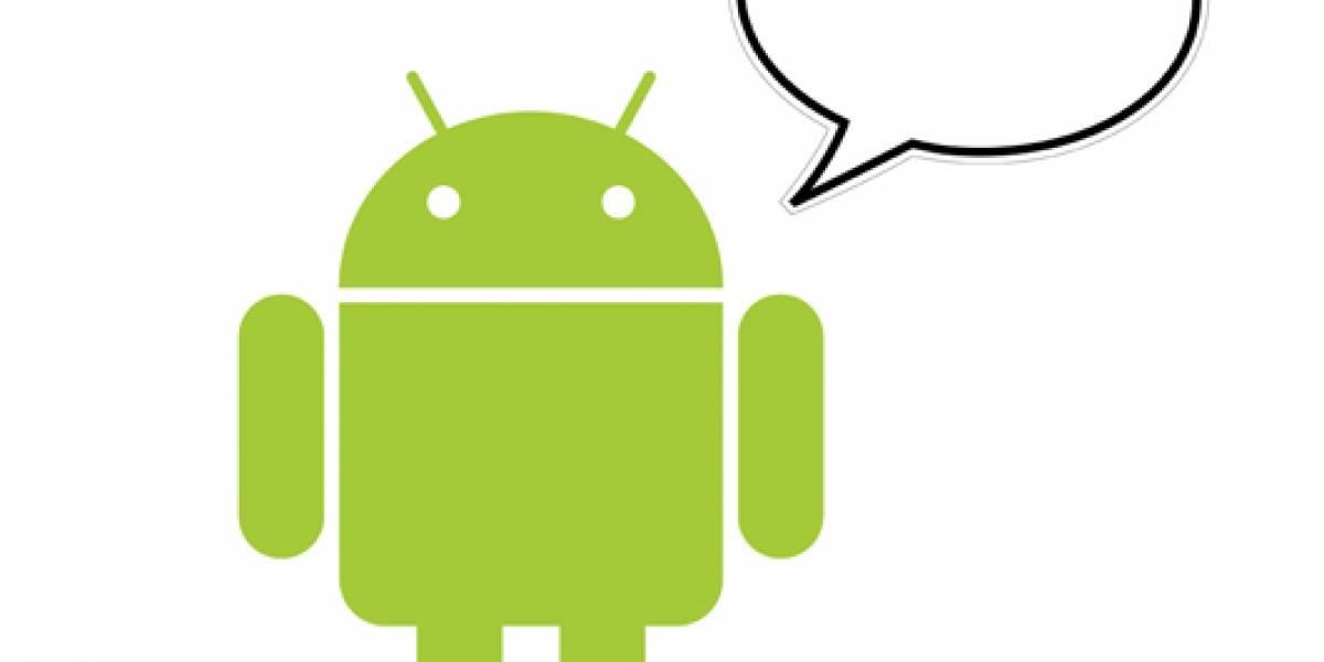 Google agrega funciones de voz a Android