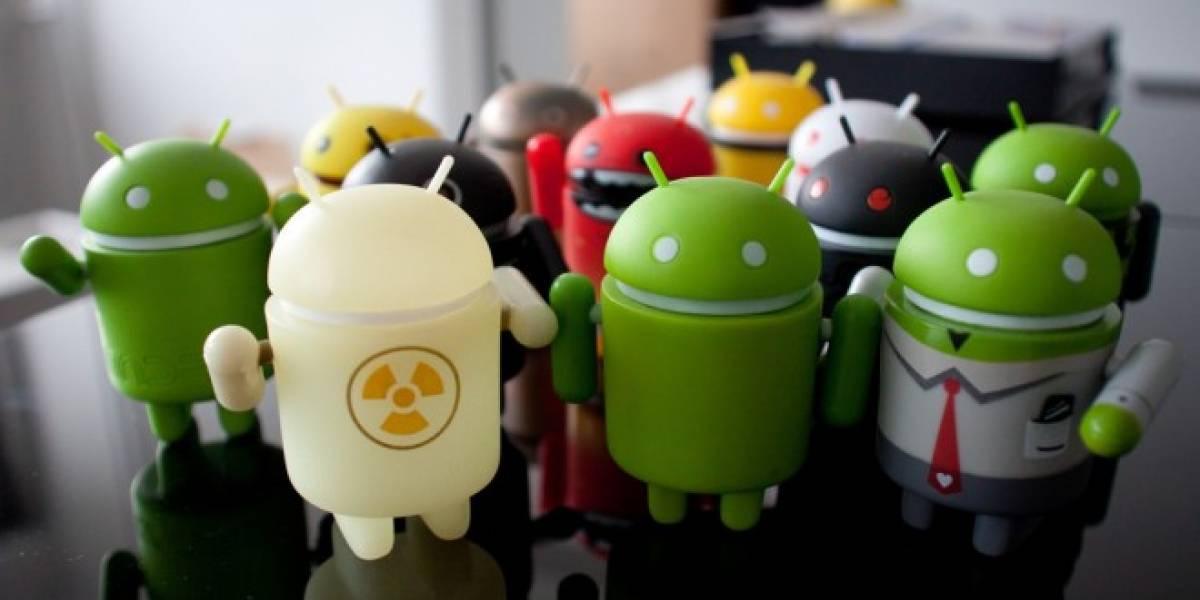 Este video muestra la distribución de Android durante los últimos años