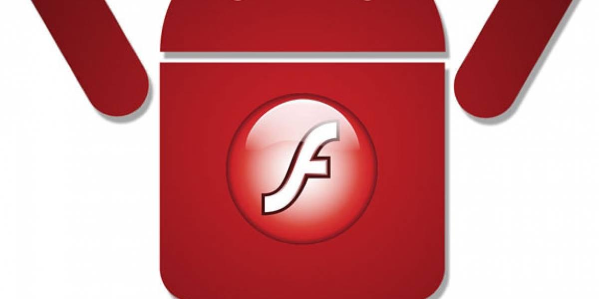 Flash para Android alcanza el millón de descargas