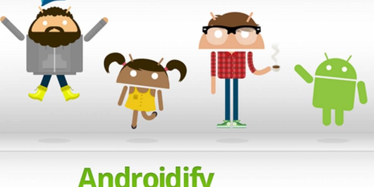"""""""Androidízate"""" con esta aplicación"""