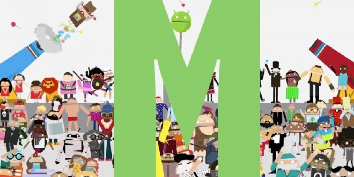 Google publica video que nos hará pensar en cómo se llamará Android M