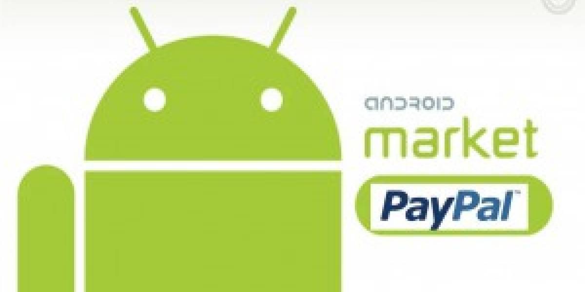Futurología: La Android Market aceptará Paypal como medio de pago