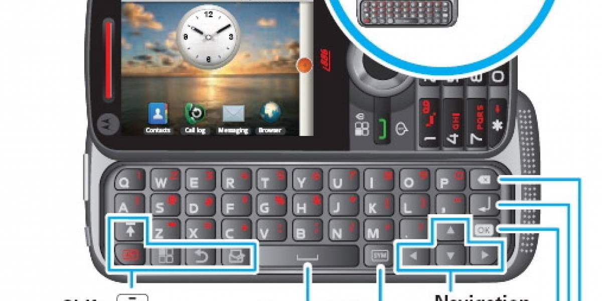 Motorola i886, un smartphone para retos extremos