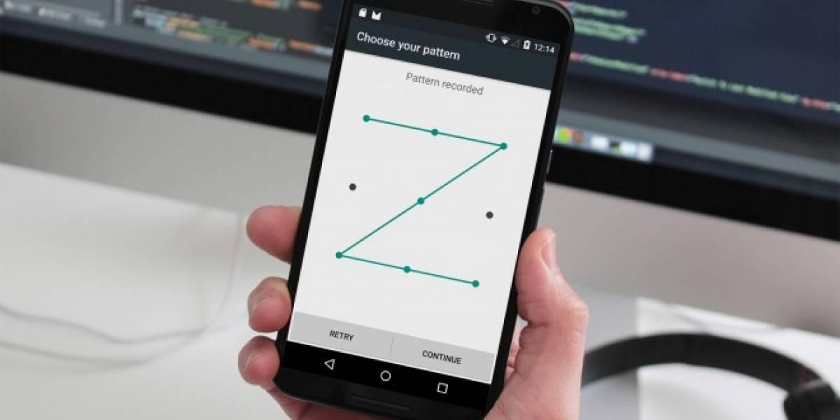 Estudiante demuestra que los patrones de bloqueo en Android son predecibles