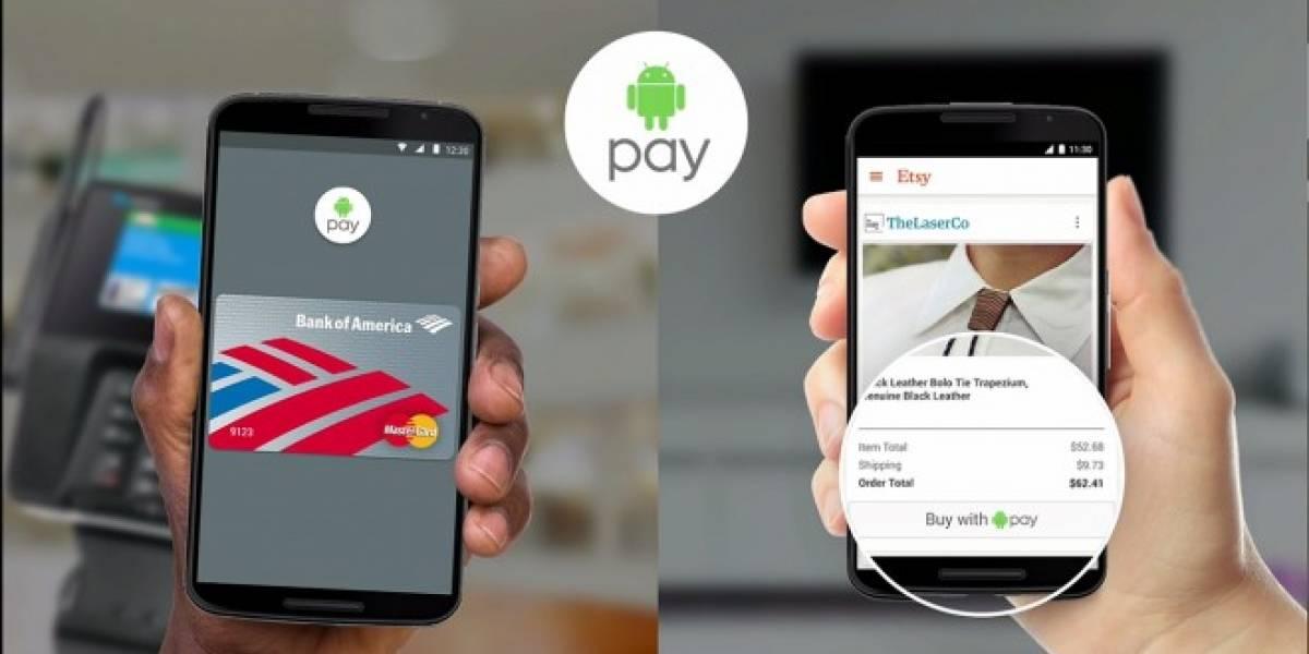 Android Pay sería estrenado en el Nexus fabricado por LG
