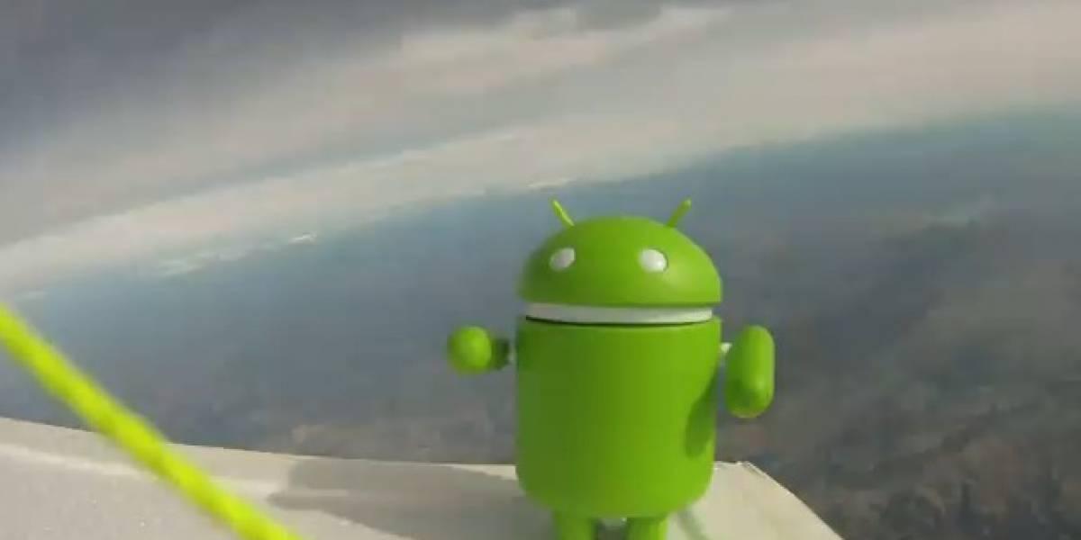 Android sobrevive al espacio