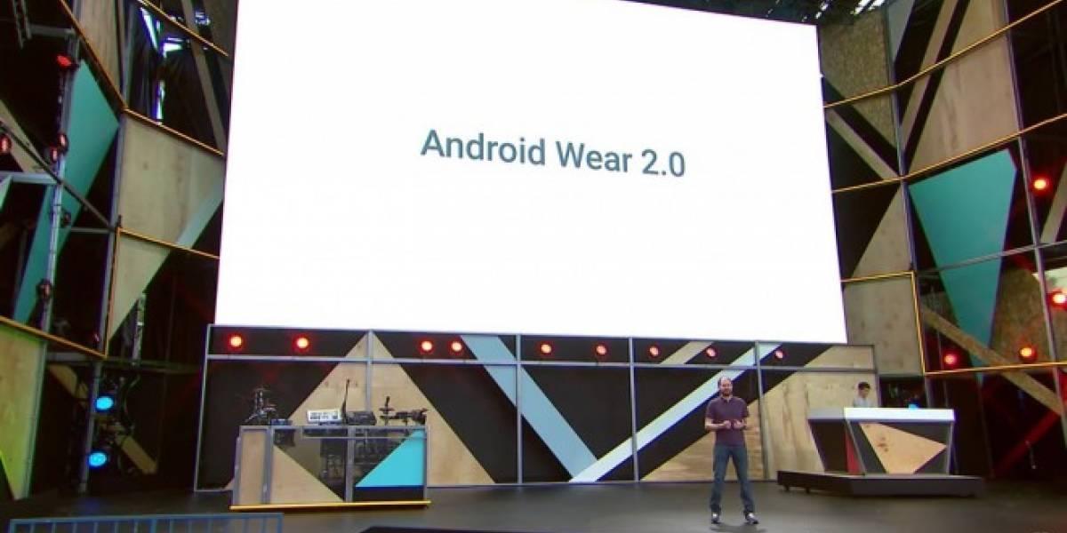 Android Wear 2.0 es oficial, conoce sus novedades #io16