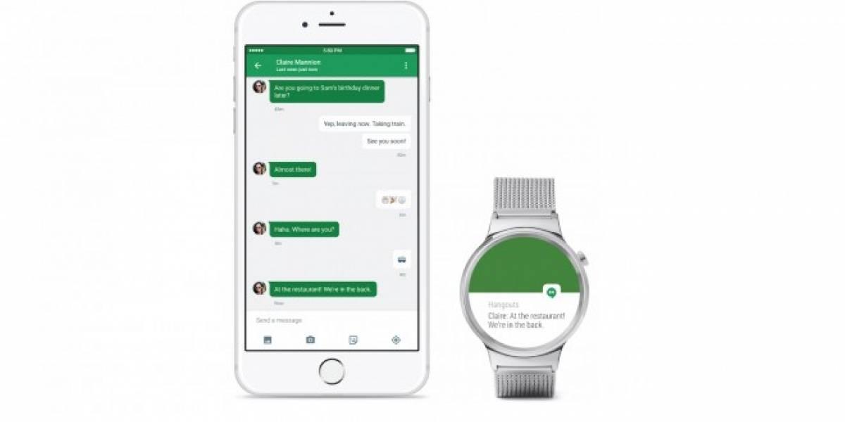 Android Wear llega oficialmente a los iPhone [Actualizado]