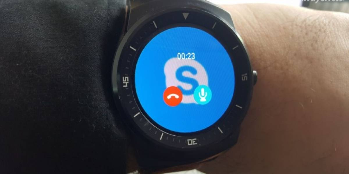 Skype para Android se actualiza con soporte para Android Wear