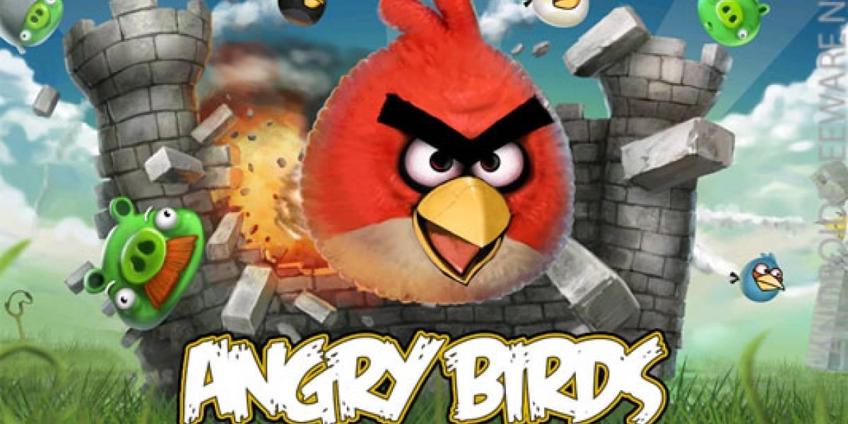 Versionean tema de Angry Birds y graban el vídeo con un smartphone