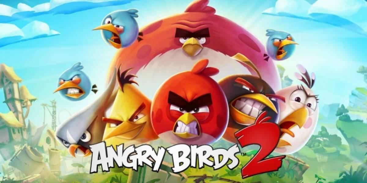 Angry Birds 2 llegará el 30 de julio