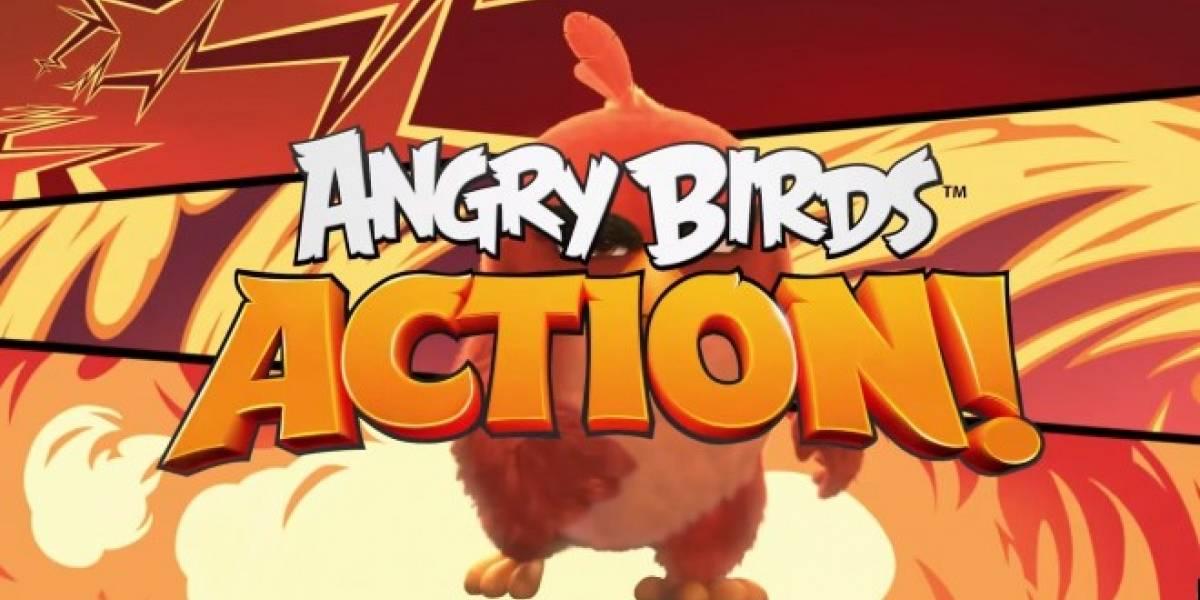 Angry Birds Action llega para celebrar el lanzamiento de la película