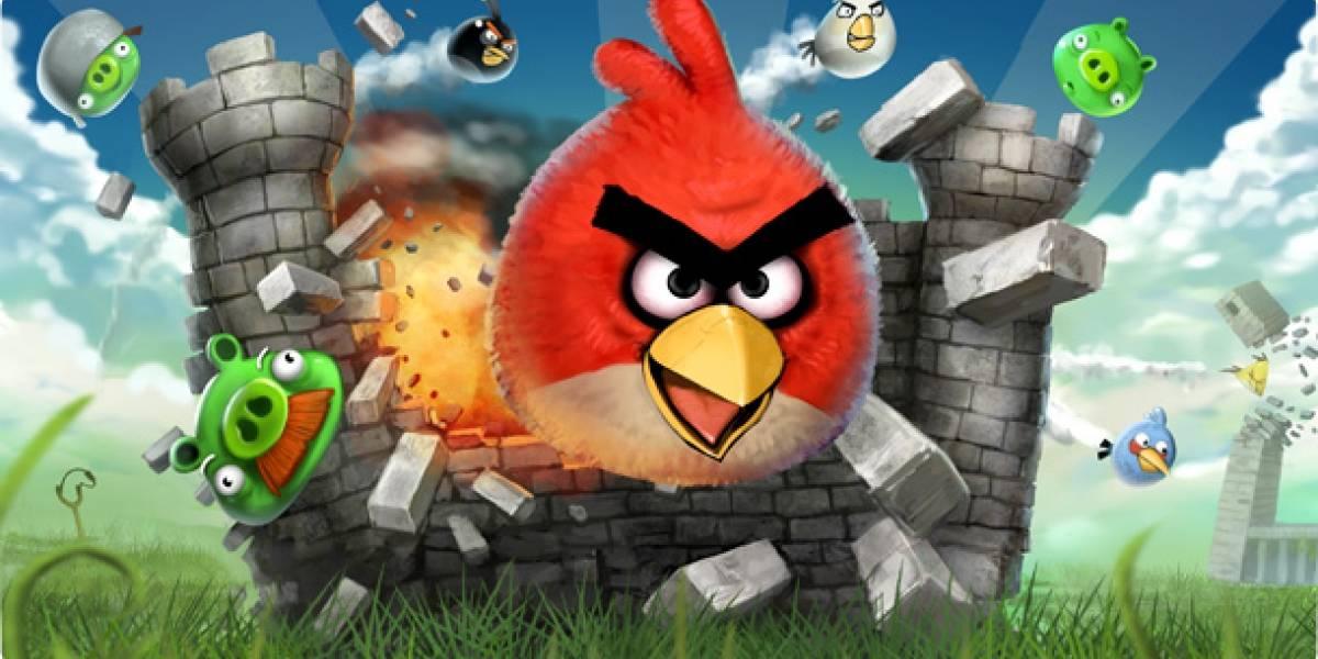 Angry Birds llega a las 250 millones de descargas