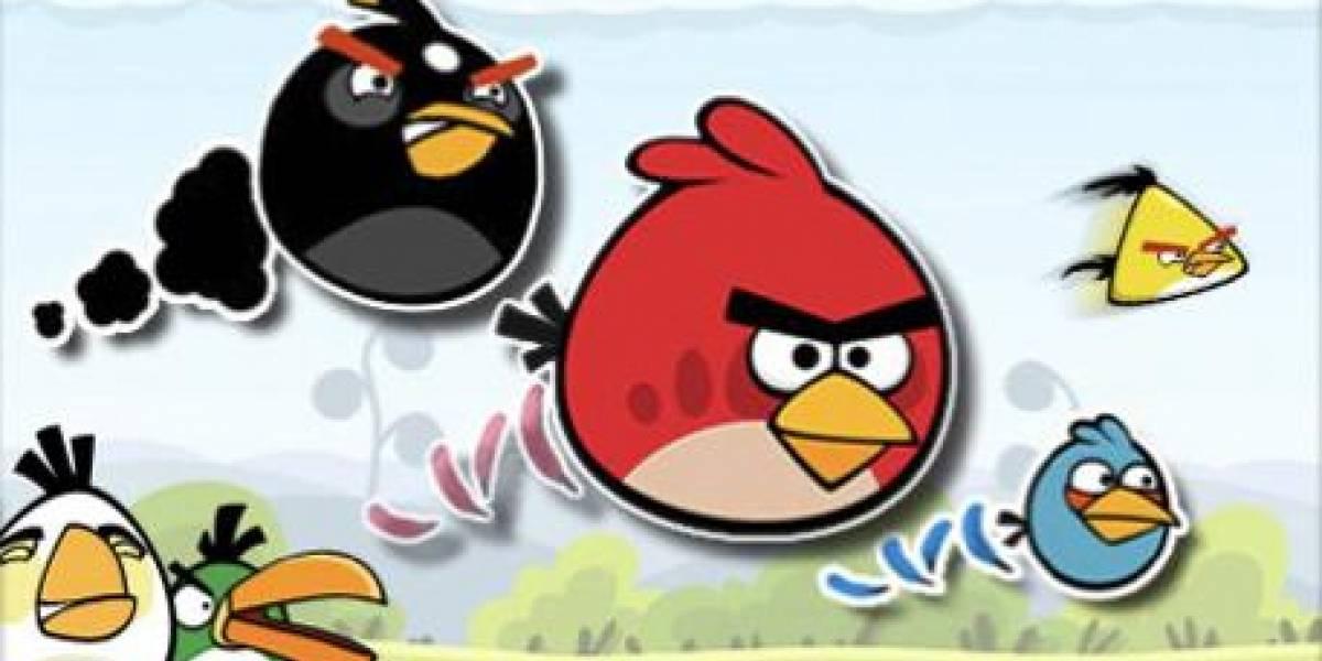 Angry Birds llega a 10 millones de descargas en el iPhone