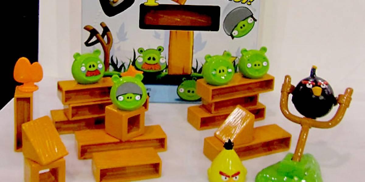 Angry Birds aterriza como juego de mesa
