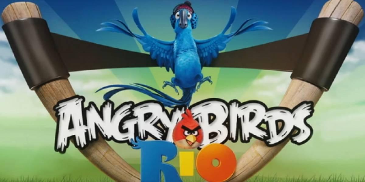Angry Birds Rio: 10 millones de descargas en 10 días