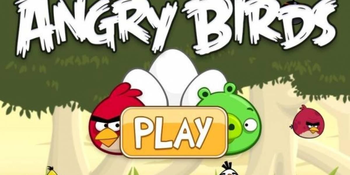 Angry Birds permite compartir tus niveles en Facebook
