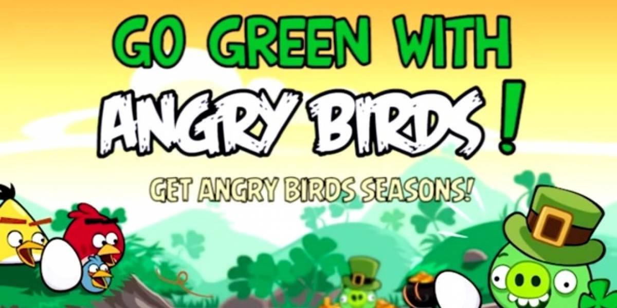 Angry birds: Pájaros y cochinos verdes invaden nuestros móviles