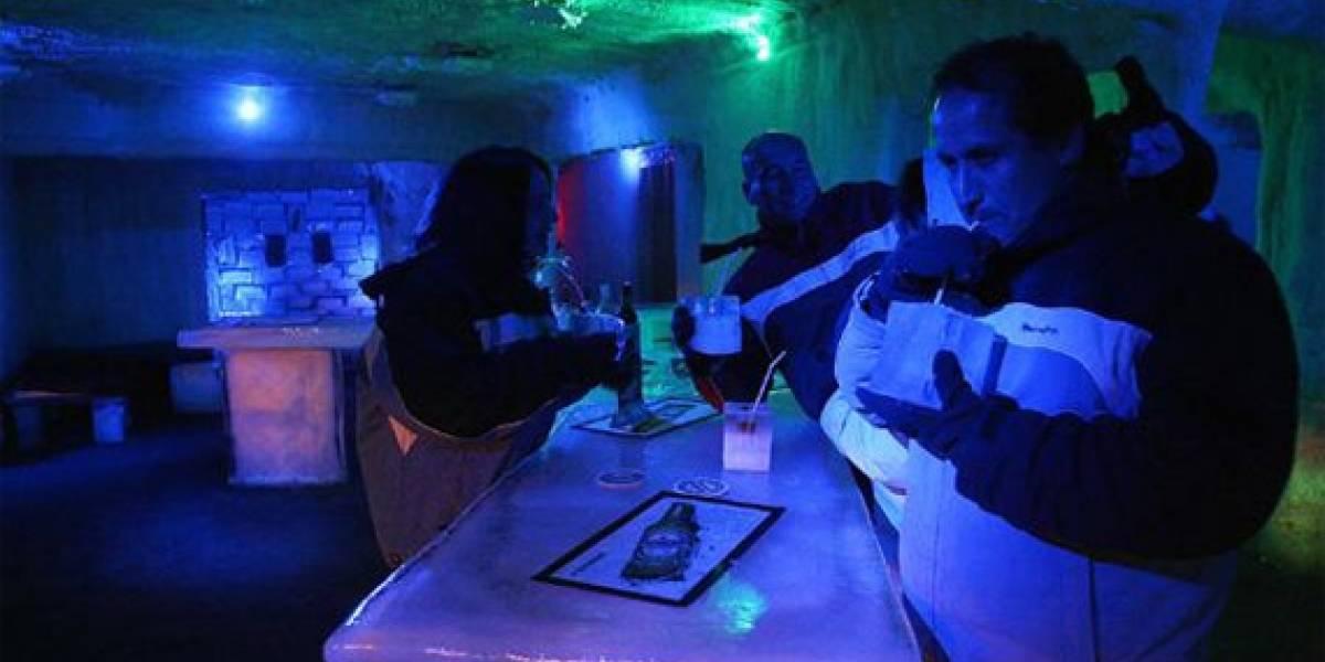 Primer bar de hielo abre en Viña del Mar