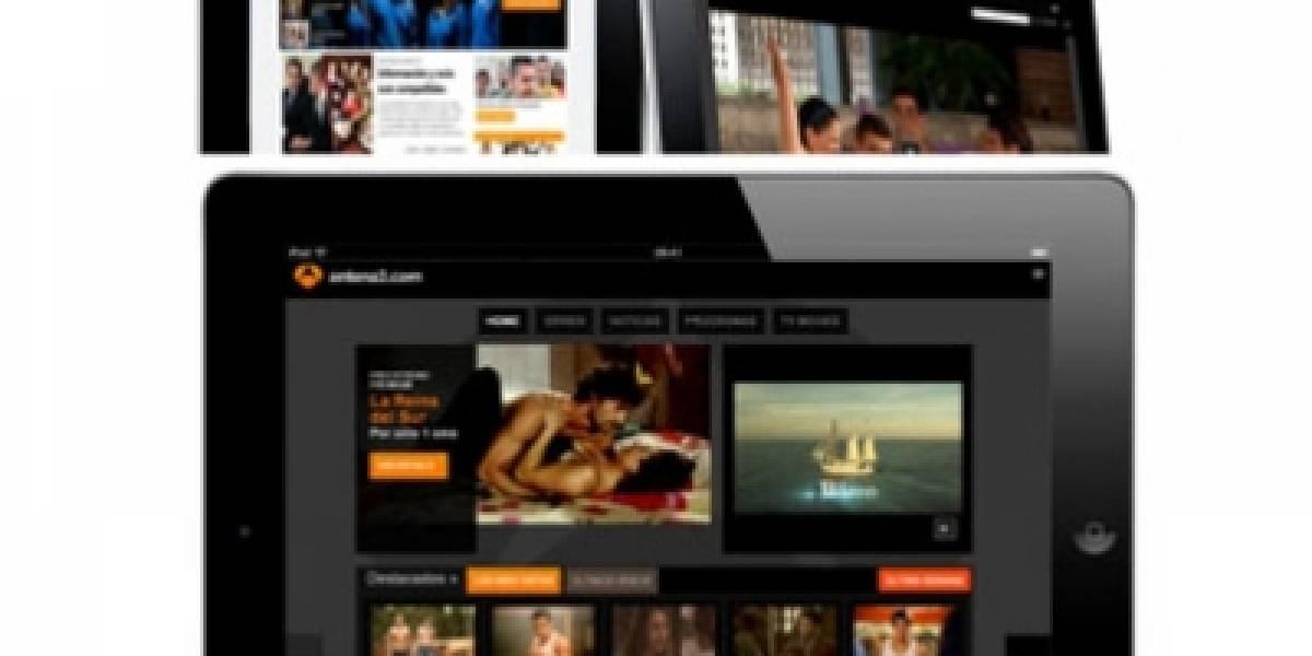 España: Antena 3 adapta su programación a iOS por la llegada del iPad 2