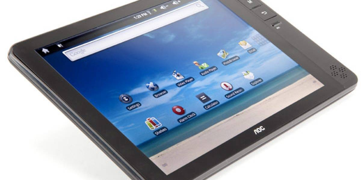 CES 2011: AOC presenta su tablet Breeze