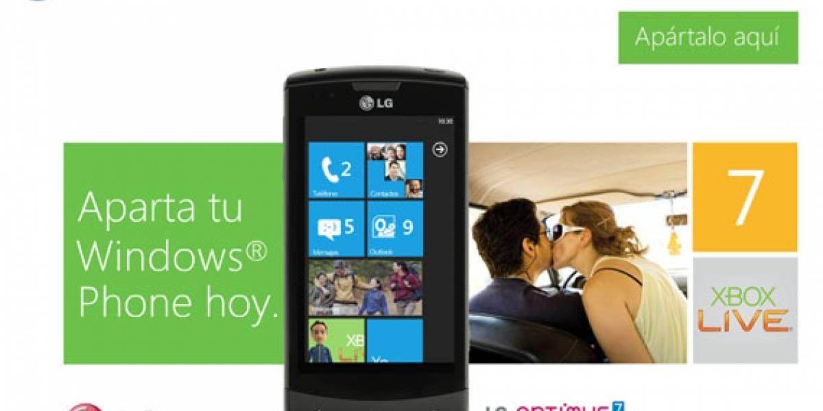 México: Telcel abre sitio de pre-registro para adquirir el LG Optimus 7