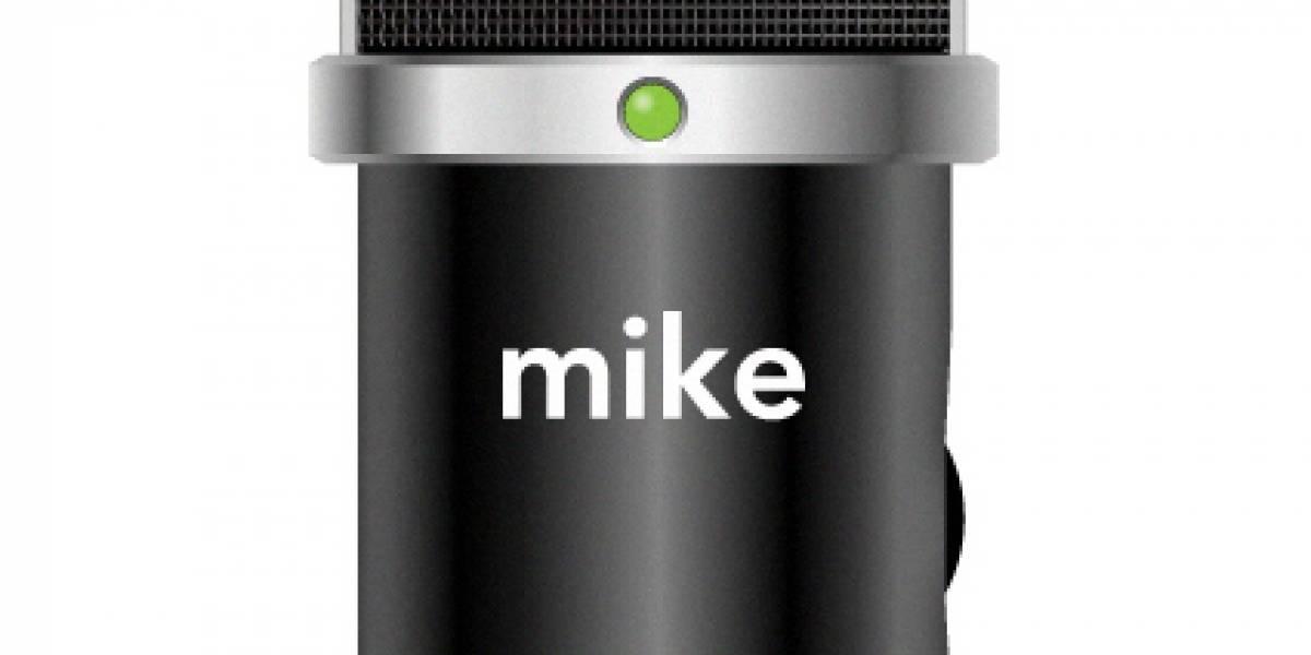 Mike es el nuevo micrófono de Apple