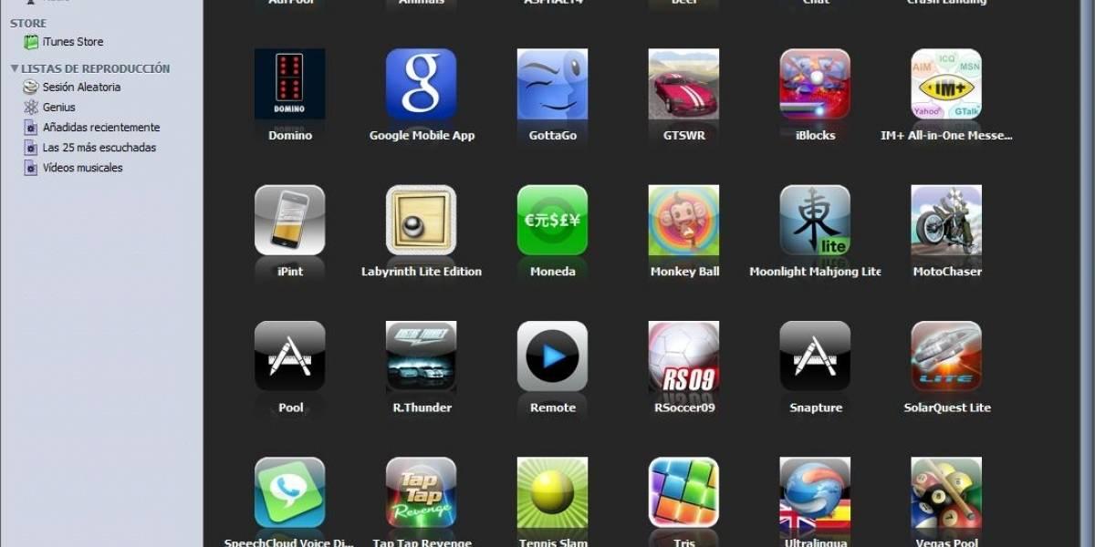 Las aplicaciones para iOS más populares de todos los tiempos