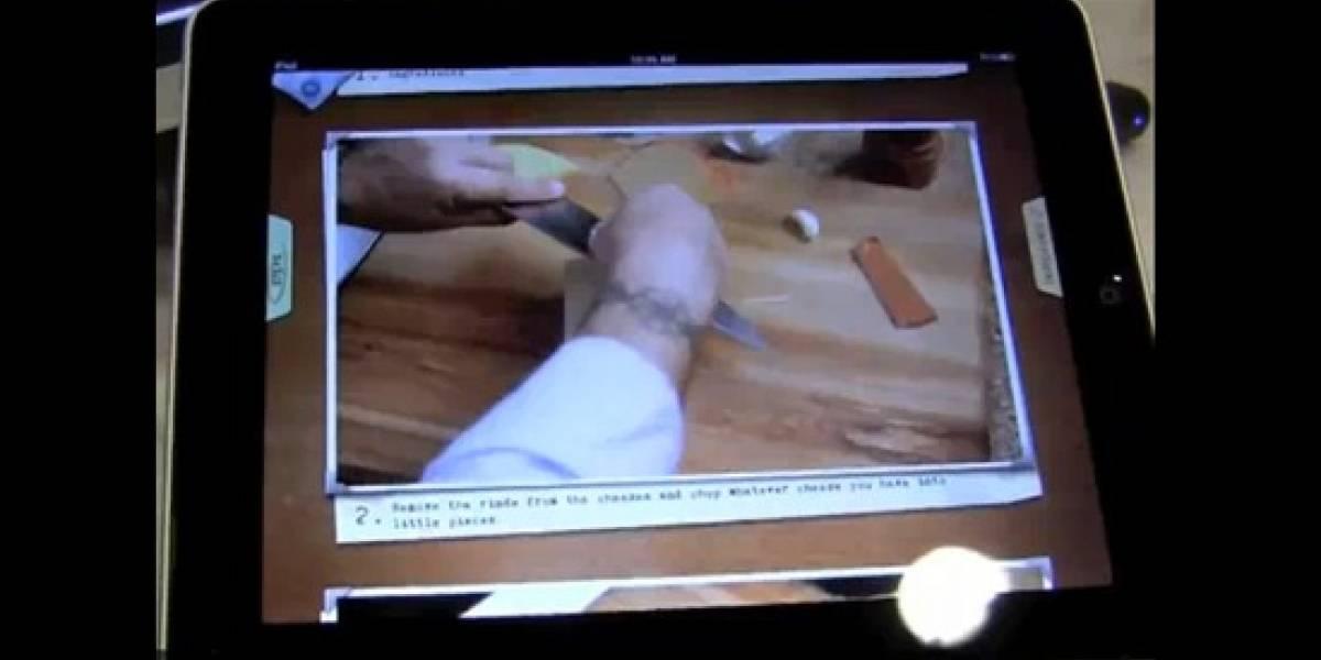 Appetites lanza recetario-interactivo para iPad