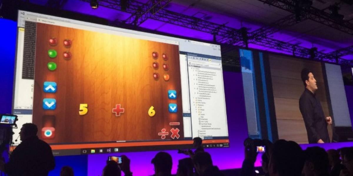 Microsoft permite llevar aplicaciones iOS y Android a Windows 10 #Build2015