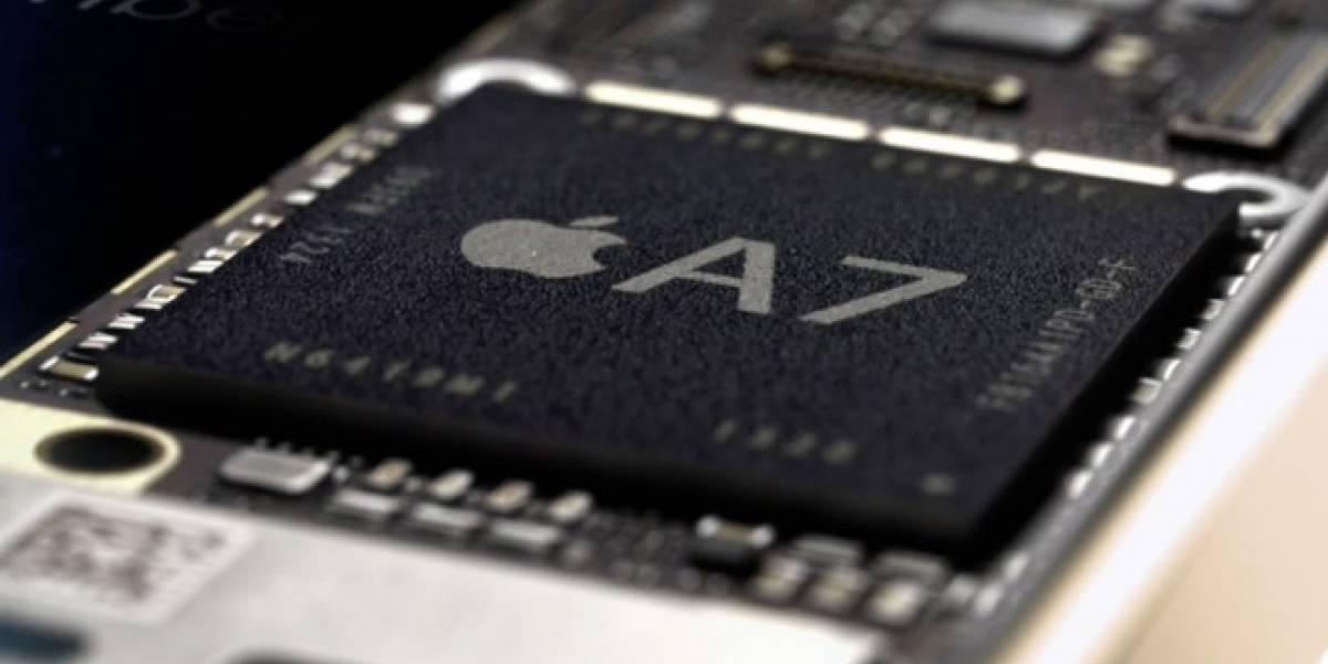 Se confirma que el procesador Apple A7 es fabricado por Samsung