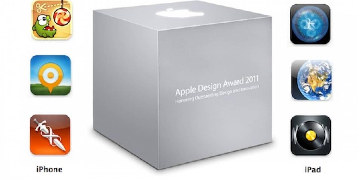 ADA 2011: Ganadores para iPad y iPhone