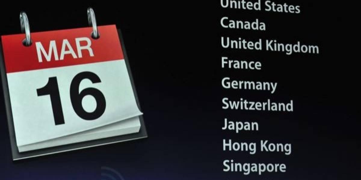 Entrega del nuevo iPad se retrasa hasta el 19 de marzo
