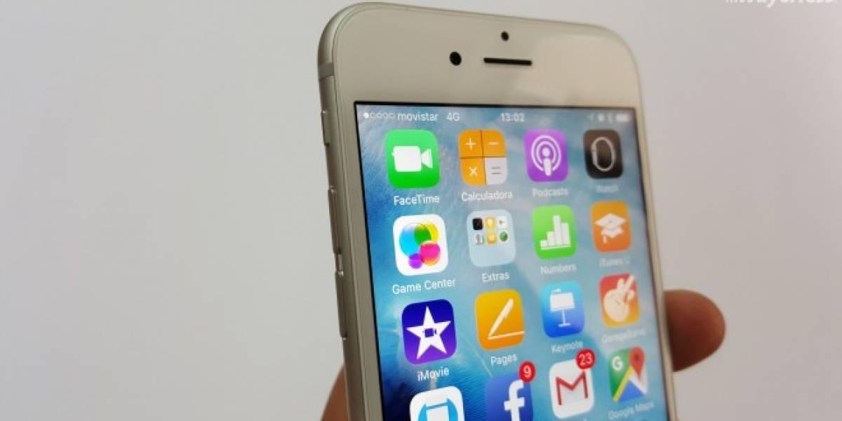Apple reconoce bug en iPhone 6s que altera porcentaje de batería