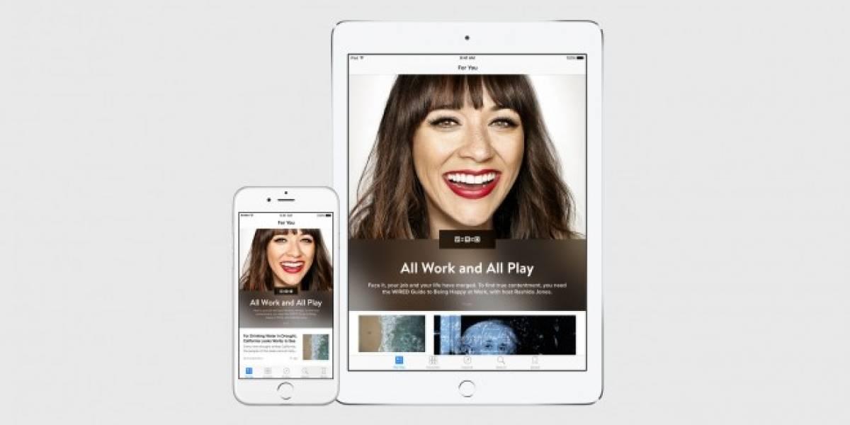 Apple revela News, un competidor para Flipboard #WWDC15