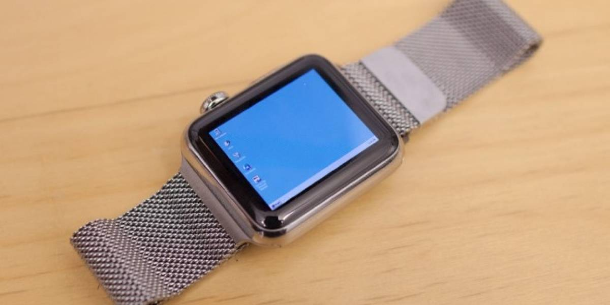 Logran instalar Windows 95 en un Apple Watch