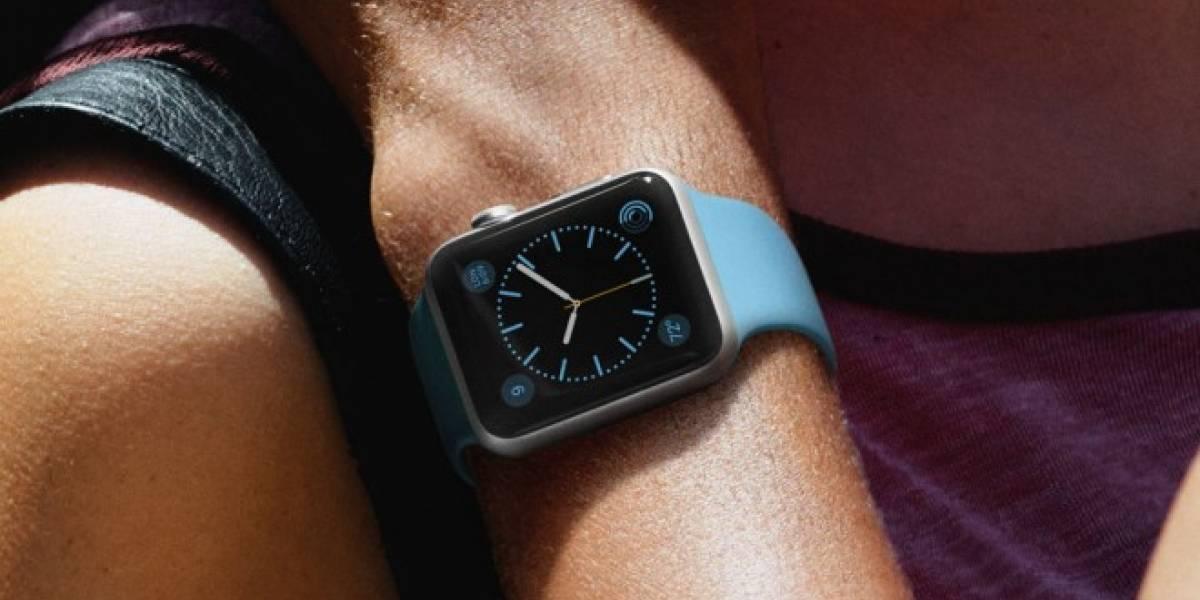 Esta prueba demuestra la resistencia de la pantalla del Apple Watch Sport