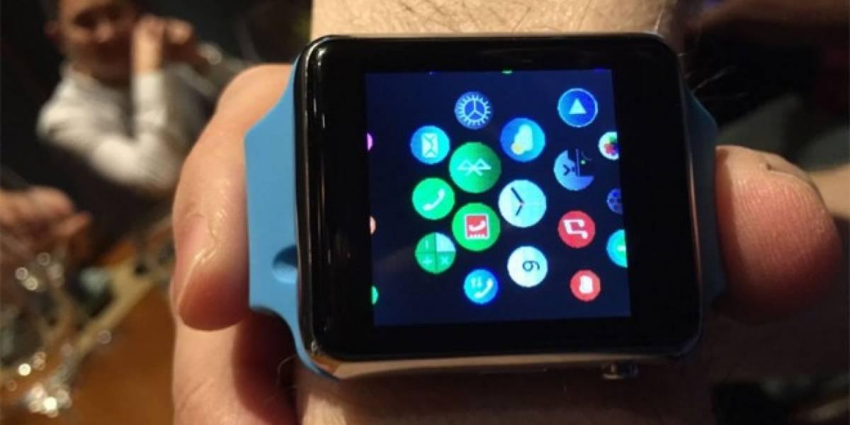 ¿No te alcanza para un Apple Watch? Esta copia china vale USD $50