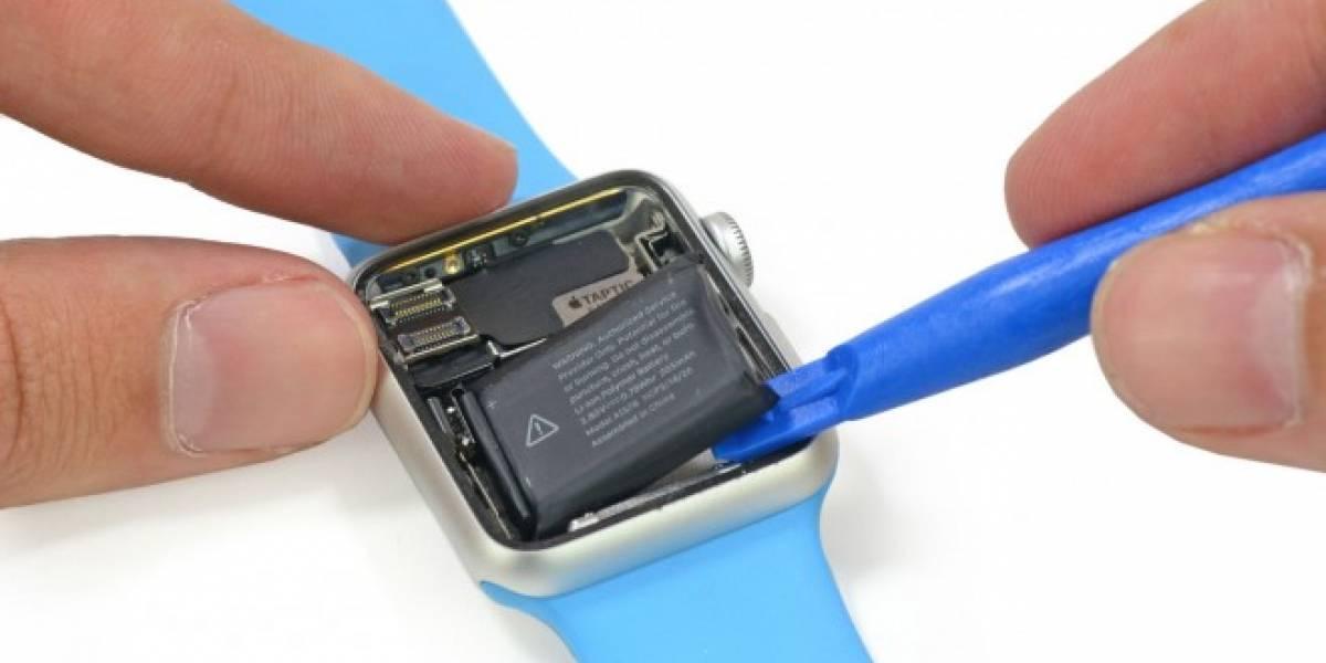 El Apple Watch Sport no es tan difícil de reparar, según iFixit