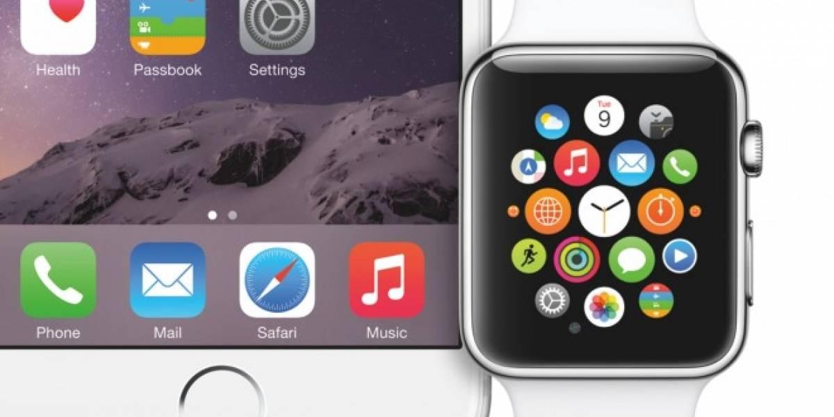 Apps para el Apple Watch necesitarán un iPhone para poder funcionar