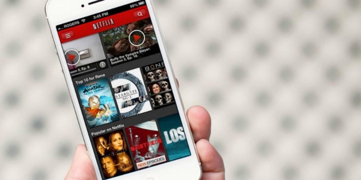 Ya puedes controlar el consumo de datos móviles en la aplicación de Netflix