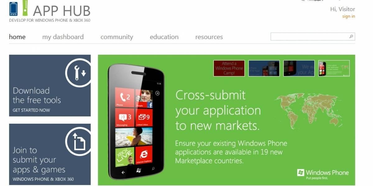 Ya se pueden certificar aplicaciones de Windows Phone 7 para el mercado de Argentina y Perú