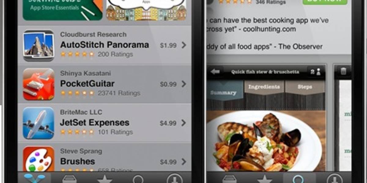 Ventas de aplicaciones para smartphones crecen explosivamente durante el 2010